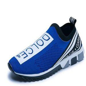 shipping 2020 hot sale latest Gabbana women's men's sneakers socks casual shoes yellow women's shoes blue men's socks shoes 35-46