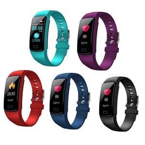 Y9 inteligente Atividade Rastreador assistir Banda pulseira de Fitness Pulsómetros Wristbands da pressão sanguínea por Smartphone Smartband