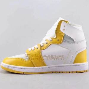New 1 UNC Top Basketball Shoes Mens Womens Designer Chicago Sneakers High Quality White Mandarin Duck Trainers 1s Athletic Shoe US5.5-11