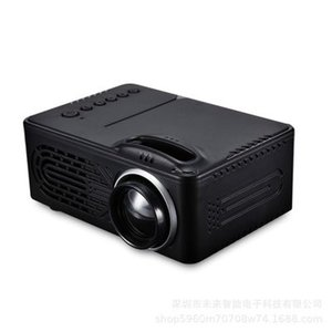 الجديد RD-814 LED ميني بروجكتور 320 × 240 مسرح منزلي العارض دعم 1080P المحمولة VS YG300 Projector22