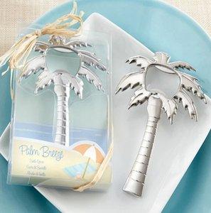 Novedades Abridor de regalo de boda Abridor de botella de vino de coco de acero inoxidable Cerveza Abrebotellas de vino Favor de boda Playa Regalo de invitado nupcial 2017
