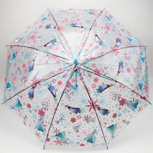 Tüm Hava Şemsiye Karikatür Comic Güvenlik Tipi Açık Havada Çocuk Şemsiye Erkek Kız Öğrenci Güneş Uzun Kolu Düz Çubuk 7 8qt p1