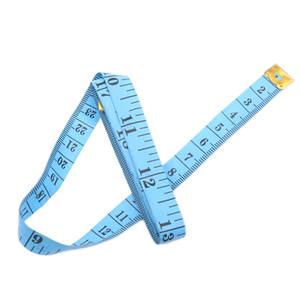 Cuerpo cinta métrica Longitud 150cm suave Regla de costura a medida regla de medición Herramienta niños de tela de regla de la calidad superior Medidas Adaptación de cinta