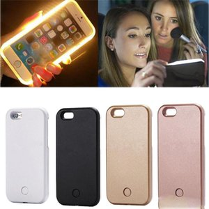 Light Glow Phone Case For iPhone x Case Photo Fill Light Artifact For iPhone 7 plus Selfie Mobile Shell For iphone 6 Case Cases QA869