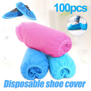 In Stock Disposable Shoes Cover Dustproof Non-slip Dhoe Cover For Children Adult Non-woven Shoe Cover Breathable Durable Covers with OPP Bag