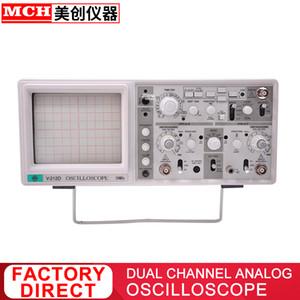 estilo MCH 20 MHz de doble canal dual de seguimiento Osciloscopio analógico V-212D Classic precio de liquidación limitado