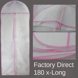 Wedding dress cover Coat non-woven non-woven dress coat dust cover hanging 180 lengthened dust bag