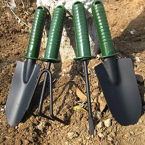 free shipping four piece small shovel and rake multi-functional garden farming tools soil-growing weeding gardening tools