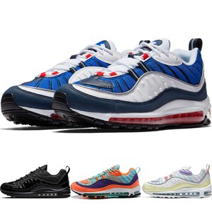 98 OG QS Sneakers Gundam Team Orange Tour Yellow Obsidian Varsity Red valentines day Reflect Silver Hyperlocal UK Mens Casual walking Shoes