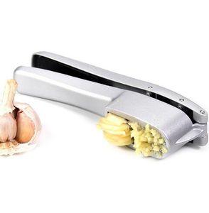 Çok İşlevli Mutfak Pişirme Araçları 2 1 Paslanmaz Çelik Renk Sarımsak Basın Alüminyum Sarımsak Zencefil Kıyma ve Dilimleme