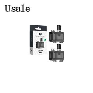 Потери Vape Ультра подталкивания Слейте Pod 4мл картридж для Quest Q-Ultra Aio Pod System Kit 100% оригинал