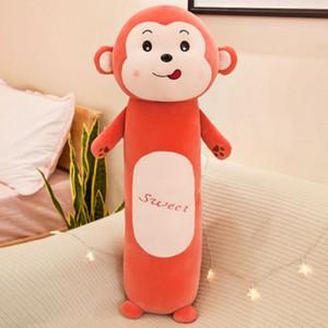 원통형 베개 아이 크리 에이 티브 인형 토끼 잠자는 아이 봉제 인형 어린이 인형 완구 어린이 소프트 롱 장난감 2020 새로운