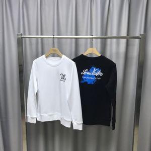 2020 autumn new European men's designer hoodie Sweatshirts Oil painting V embroidery loose hoodie blank pullover hoodie S-XXL 706