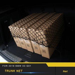 Für 2018 X3 G01 X4 G02 Car Styling Trunk Rear Seat String Netz-Ineinander greifen-Speicher-Beutel-Taschen-Cage Automobil-Organizer