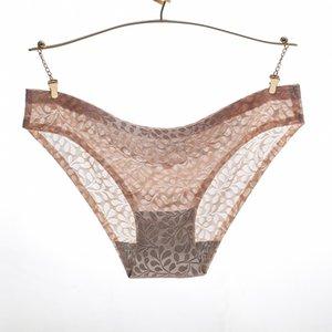 Calcinha SEEDRULIA inconsútil de las mujeres de las bragas para el vestido de Cheeky escritos atractivos de la ropa interior bikini rosa Cadena Tanga Culotte Femme