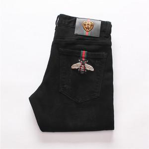 Fyzz Erkek Giyim Özgün Tasarım Erkekler Moda Jeans Düz Pantolon İnce Ve Rahat Elastik Stil Jeans Bvc410