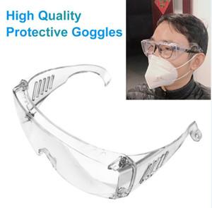 Vente chaude Lunettes standard Goggle Lunettes de sécurité Protection des yeux anti-brouillard anti-poussière Lunettes Glass Eye Livraison gratuite