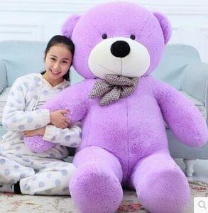 New Arrival 160cm 1.6m giant teddy bear plush toys children cute soft peluches baby doll big stuffed animals sale birthday gift