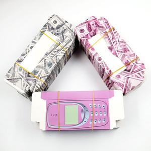 50pcs Atacado cílios falsos dinheiro Embalagem de telefone celular rosa Caixa de Papelão Caixa personalizada móvel 3d cílios Holografia Boxes