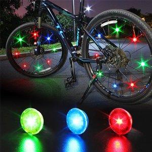 Roue de vélo lumières clignotantes vélo Spoke Lumières avec batteries étanches éclairage vélo pour la sécurité à vélo Facile à installer Roues
