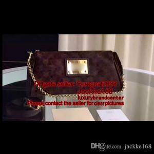 EVA PURSE клатч кошелек N55213 N55214 M95567 N41277 M40717 маленькая женская сумка на плечо CROSS LUXURY сумочка Цепной ремень M43434 25см