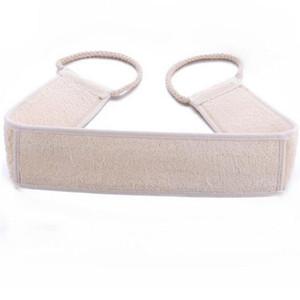 Neues reines Luffa langer Streifen Bad Rub Pinsel Peeling Luffa Pull Back-Streifen Massage Rückengurt Badetuch