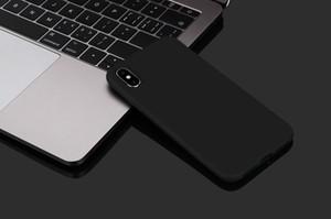 Ультратонкие Матирующий крышку корпуса Мягкая обложка чехол для iPhone XS Max XR XS X 7 8 6 7 плюс высокое качество