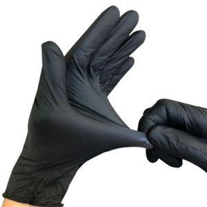 Luvas Luvas Luvas descartáveis 100pcs Nitrilo látex Início Food Universal limpeza doméstica Garden Anti-skid Rubber Glove DBC BH3298