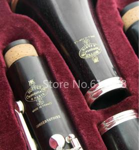 Brand New Buffet Crampon консерватория C12 бакелит кларнет Bb Professional Труба музыкальный инструмент B Flat кларнета с футляром