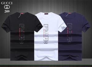 Yaz Ekip Boyun Tops Tees erkek T Shirt Kısa Kollu T-Shirt Hip Hop Moda Mektup Baskı Erkek Tasarımcı Streetwear Spor T Shirt # 0510