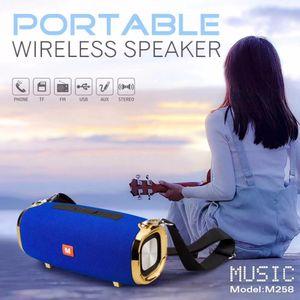 20 W Kablosuz Bluetooth Hoparlör Taşınabilir Boom Kutusu Açık Bas Sütun Subwoofer Ses Box Mic ile Destek TF FM USB Subwoffer