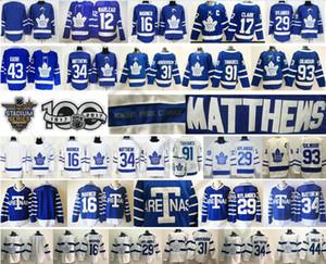 2018 Stadium Series Toronto Maple Leafs 19 Joffrey Lupul 43 Nazem Kadri Morgan Rielly 47 Leo Komarov Mitchell Marner 34 Matthews Jersey