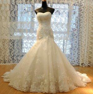 Изготовленные на заказ плюс размер африканского свадебного платья с аппликацией без рукавов без рукавов русалка свадебные платья белые длинные свадебные платья