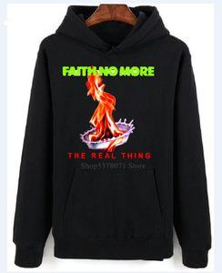 Faith No More реальной вещи Patton Fantomas Мужская Белый толстовка Размер S-2XL Печати с длинным рукавом Swearter Моды