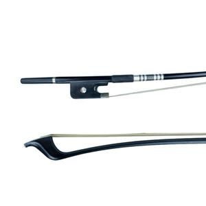 NAOMI Arco de contrabajo para 4/4 Bass Top Arco de fibra de carbono W / Real Mongolia Accesorios para violín de pelo de caballo Nuevo