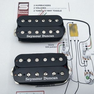 Seymour Duncan pickups SH-4 JB SH-2n Jazz Hot Rodded Humbucker Black Guitar Pickup one Set