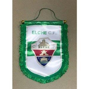 Drapeau de l'Espagne Elche CF Remise drapeau 30cm * 20cm Taille Décoration drapeau bannière pour la maison jardin Festive