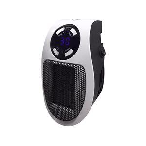 1Pcs 500W Universal Mini Electric Heater Warm Air Blower Household Wall Fan Heater with Remote Control US   EU Plug A30