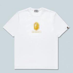 2020 Nakış Ape Erkekler Kadınlar Markalı Gömlek Yaz Designered Erkek Tişörtü Kısa Kollu Lüks Üst Tees Hip Hop Erkek Streetwear 2042801H
