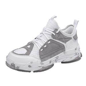 Aumenta sagace hombres zapatillas de deporte de verano Entrenadores tendencia de la mosca de la armadura transpirable con levedad las zapatillas de deporte 2020 de moda los zapatos casuales de los hombres