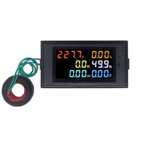 AC Güç Metre 80.0-300.0V Dijital Gerilim Wattmetre Güç Tüketimi Watt Frekans Enerji Metre Elektrik Analyzer Monitör