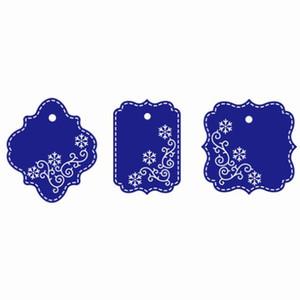YLCD1606 Etiquetas Troqueles de corte de metal para Scrapbooking Plantillas DIY Álbum Tarjetas Decoración Carpeta de grabación en relieve Herramientas de plantilla de cortes