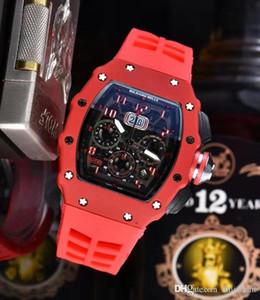 Роскошные скелет череп спортивные часы Алмаз все циферблат работа кварцевые часы мода циферблат инкрустированные дрель Мужские кварцевые часы Ричард Бесплатная доставка