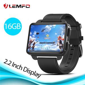 LEMFO LEM4 Pro 2,2-дюймовый дисплей 3G Смарт Часы Android 5.1 1200 мАч литий-батарея 1GB + 16GB Wifi снимать видео Сменная ремень