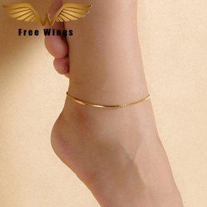 ewelry & Accessories Ankle Bracelet Feet Leg Chain Metal Barefoot Sandals Anklets For Women Beach Accessories Bohemian Gold Anklet Foot J...