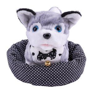 Electronic Smart Cute Pet Dog Electric Plush Rabbit Will Call Walking Simulation Puppy Animal Toy 1-3 Years Old Lovely Toys