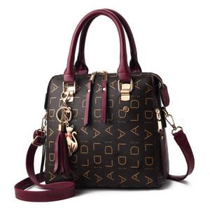 2020 design di lusso di modo viola borse delle borse di Crossbody Borse signora Handbag donna a mano pochette Lettera del messaggero della spalla del Tote Bag