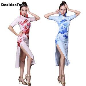 2020 abito patchwork vietnam ao dai per donna costumi tradizionali cinesi qipao cheongsams fiore abiti orientali femminili