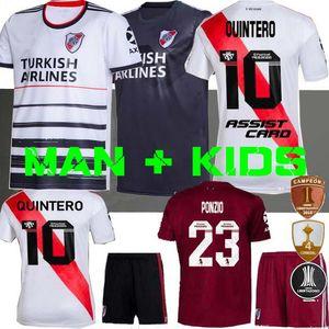 MEN + KIDS 2019 camisa de futebol em casa 19 20 Pratto Fernandez SCOCCO Palacios 70 Anos Libertadores camisas de futebol 2020 River Plate QUINTERO
