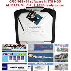 alldata e mi..ch .. software Atsg 2017 instalado laptop bem CF30 4GB todos os dados 10,53 m..ch .. on de ... d 24 software em 2TB HDD